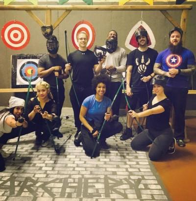 battle archery training range