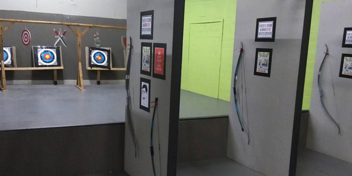 archery range training toronto brampton