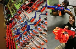Battle Archery - Nerf War in the GTA!