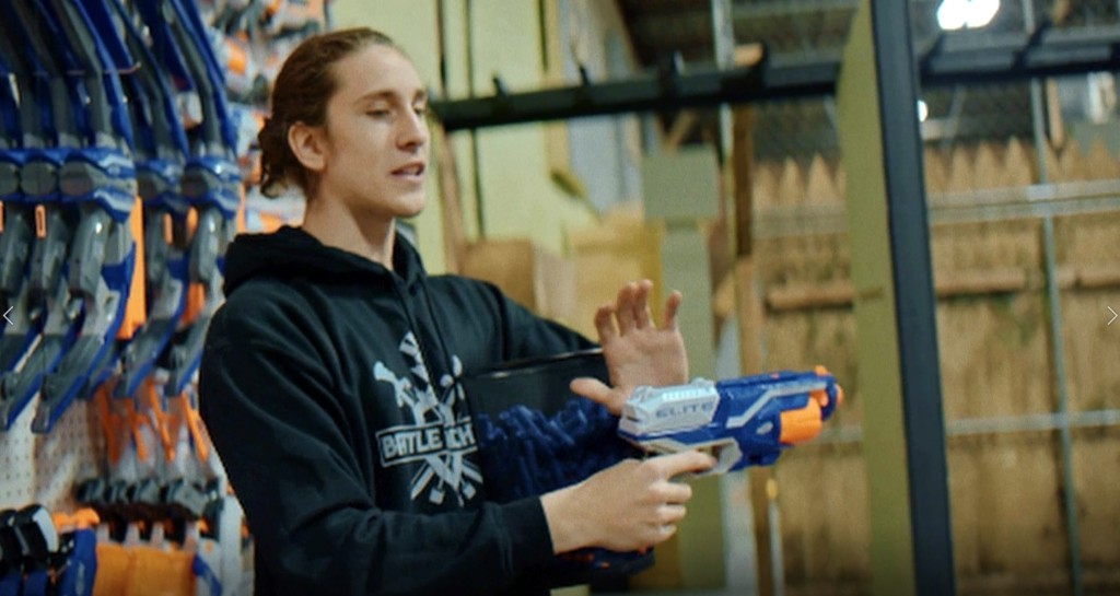 nerf wars staff event idea near toronto