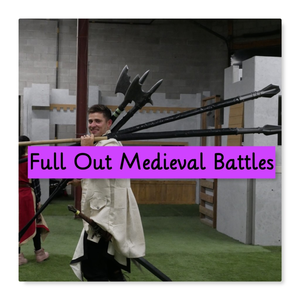 battle archery medieval battle party mississauga