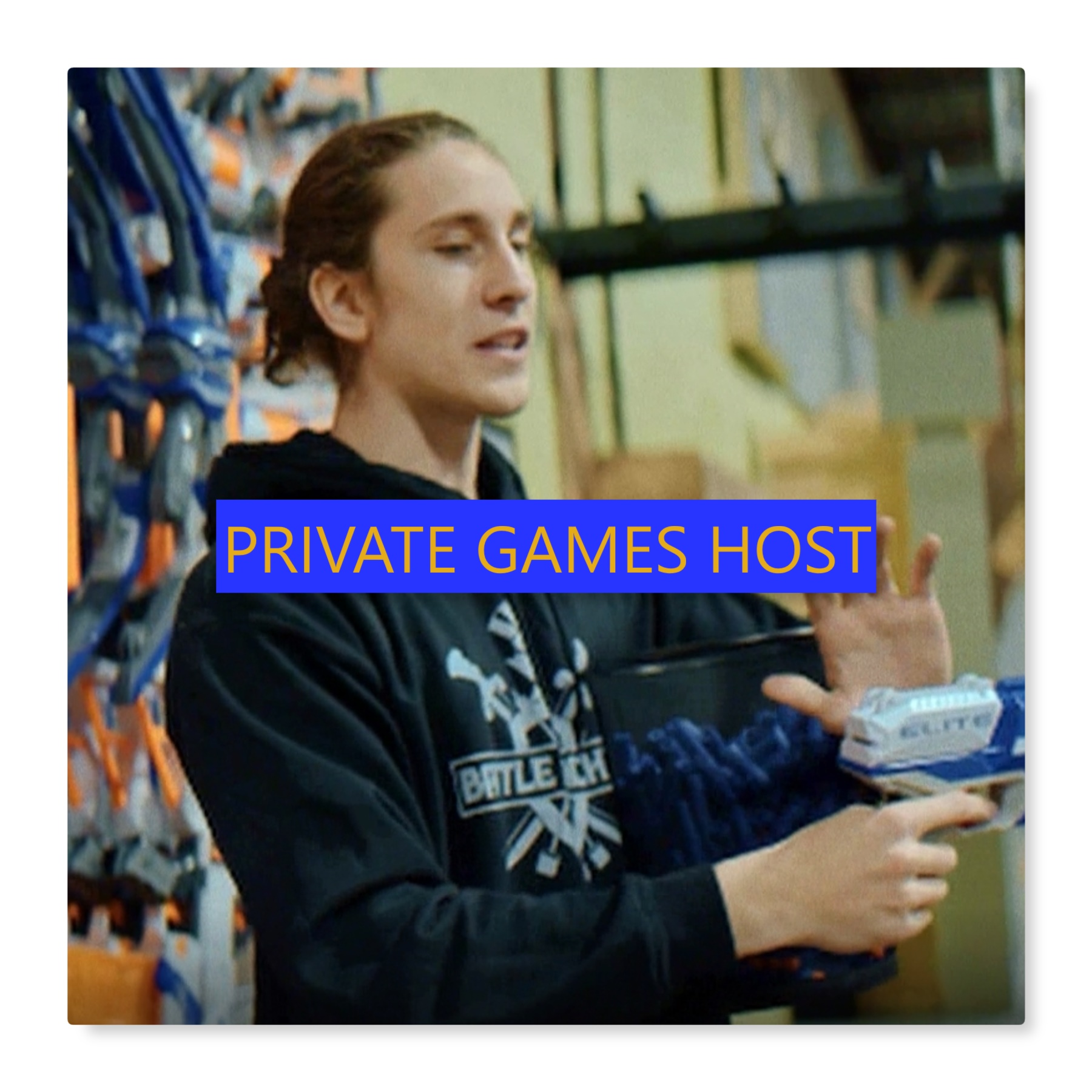 nerf wars birthday party private game host teaching nerf