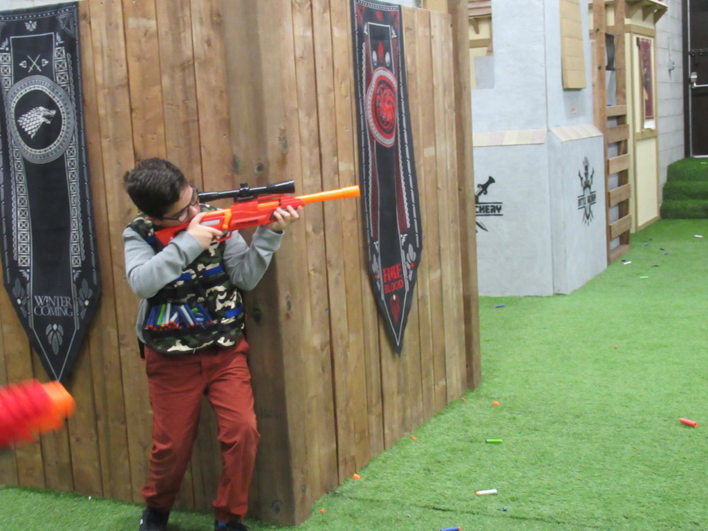 nerf battle kid sniper