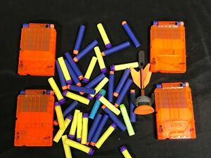 mix of nerf ammo