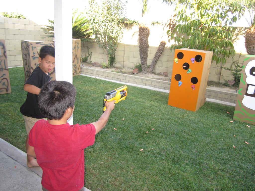 nerf DIY targets