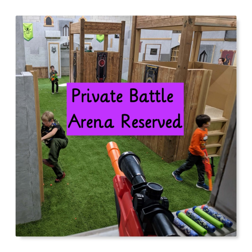 private nerf battle arena mississauga birthday