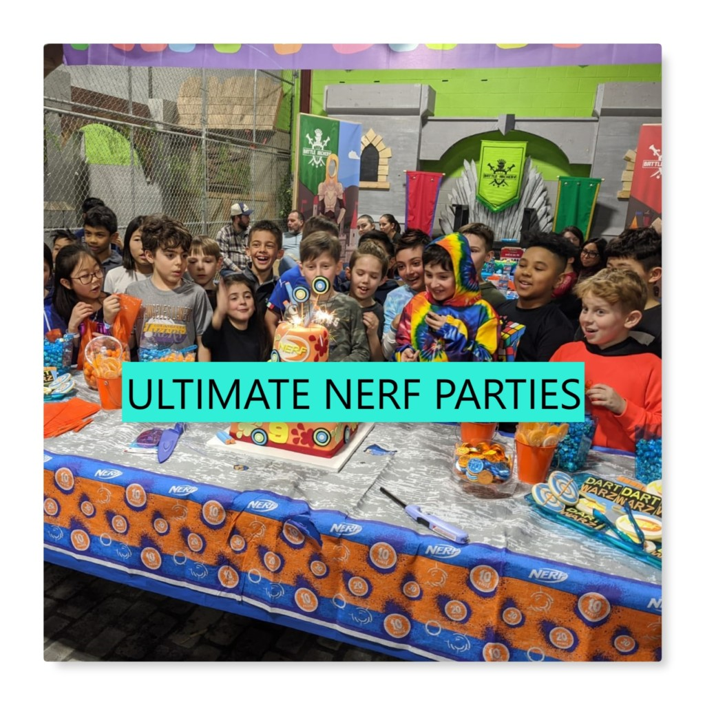 ultimate nerf birthday parties nerf zone